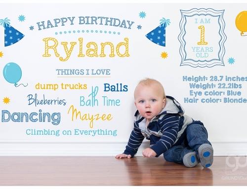 Family + Ryland's Birthday Session