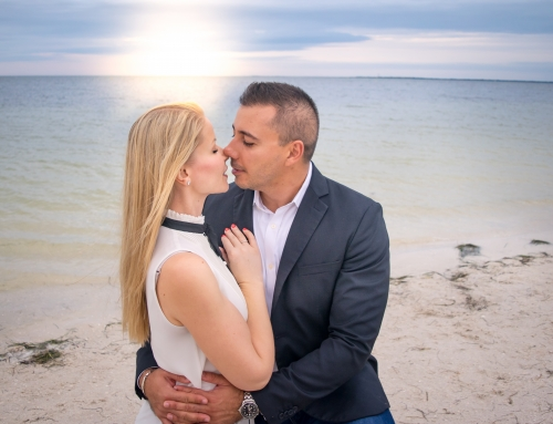 Romantic Beach Couples Session | Tampa Photographer